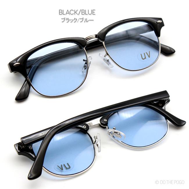 ブローサングラス,メンズサングラス,カラーレンズ