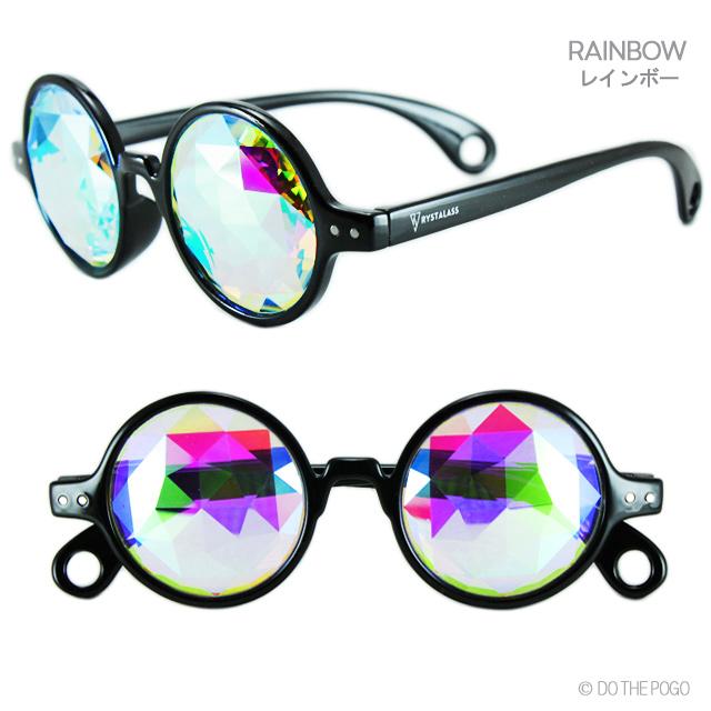 万華鏡,カレイドスコープ,RYSTALASS,丸めがね,ラウンドサングラス